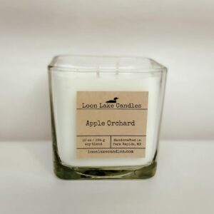 Apple Orchard Square Candle